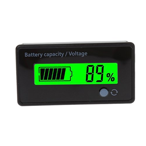 Guangtian 8-70 V LCD-Blei-Lithium-Batterie-Kapazitätsanzeige Spannungsprüfer Voltmeter (36-volt-batterie Messgerät)