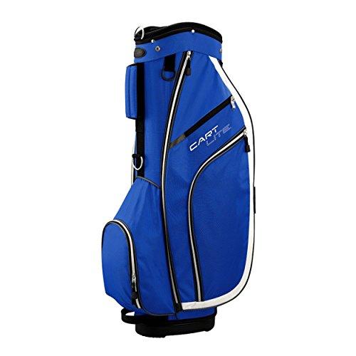 Wilson, Sacca porta mazze da golf Staff Cart Lite a 5 scomparti, Blu (Mehrfarbig), Unisex