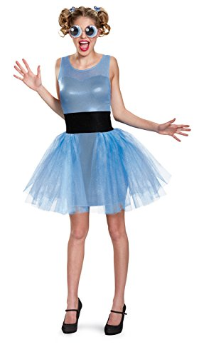 Women's Powerpuff Girls Bubbles Deluxe Fancy dress costume Teen (Teen Girl Kostüme)