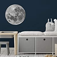 Full moon wall sticker | Space wall stickers | Perfect for a creating a space themed room