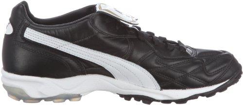 Puma King Allround Turf, Men's Football Competition Shoes, Black (Black/White/Team Gold 01), 13 UK (48.5 EU)