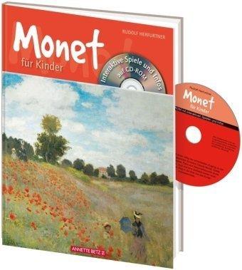 Monet für Kinder mit CD-ROM