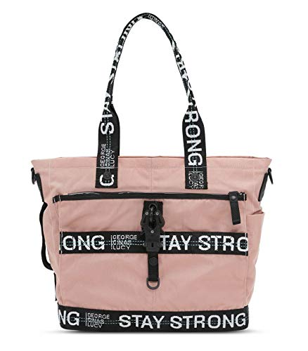 George Gina & Lucy Baby Bags Little Styler Dusty Rose Strong