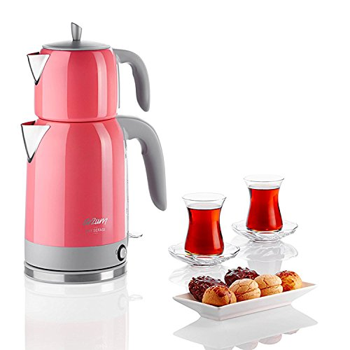Modern electric kettle tea kettle tea pot Arzum Tee, Pink Pink
