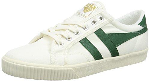 Gola Tennis, Scarpe da Ginnastica Basse Uomo, Avorio (off White/Dark Green), 41 EU