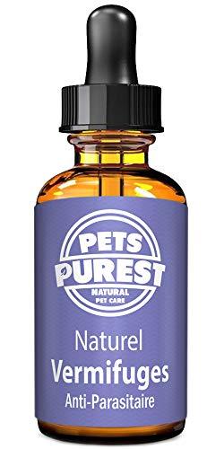 Vermifuges anti-parasitaire 100% naturel pour les chiens les chats les oiseaux les animaux domestiques. Éliminer les vers, ascaris, ankylostome, trichocéphale et ténia. 1-2 ans d'approvisionnement