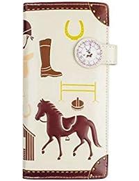 Bourse longue Porte-monnaie portefeuille pour la garçons femmes modèle 'cheval'