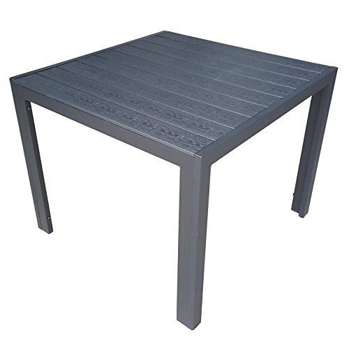 Gartentisch alu 90x90  Gartentisch Quadratisch 90x90. Affordable Exotan Gartentisch Milan ...