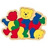 - Tres Osos, insertar piezas de puzzle
