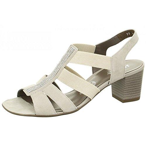Jenny-pantolette 310152, sandales femme kiesel Weite G