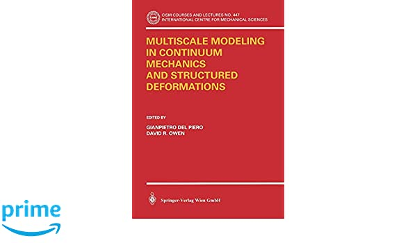 Multiscale Modeling in Continuum Mechanics and Structured Deformations