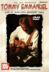 LIVE AT SHELDON CONCERT HALL - arrangiert für mit DVD - Gitarre [Noten / Sheetmusic] Komponist: EMMANUEL TOMMY