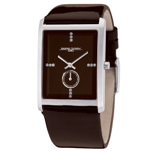 Jorg Gray Ladies Analogue Watch JG2600-33 with Brown Dial and Leather Strap