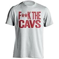 F * * K la Cavs – Miami Heat Fan camiseta – diseño de texto –