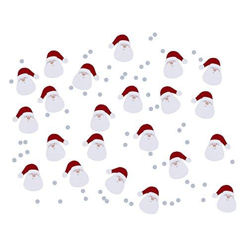 Neviti Let It Snow Father Christmas Confetti, Multi-Colour, 14 g
