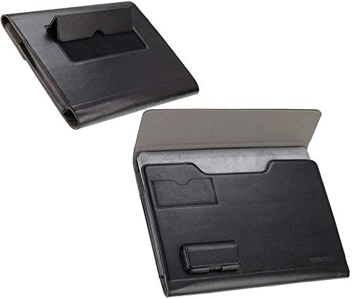 "Broonel - Schwarz Laptop Folio Fall Kompatibel Mit Dem HP EliteBook 1050 G1 15.6"" 4K UHD Laptop"