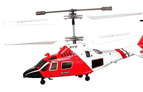 SYMA S111G - Remote Control Helicopter Saves Costs 3.5Ch. Gyro 22cm. - Perfect to learn