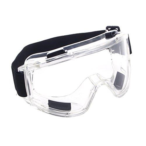 Yintiod Schutzbrille Ski Snowboard Motorrad Brillen Brillen Augenschutz Arbeitslabor Farbe: Transparent