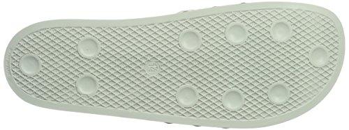 adidas Adilette, Mocassini Uomo Verde (Linen Green/linen Green/linen Green)