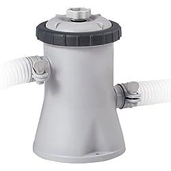 INTEX Filtre EPURATEUR A Cartouche 1,25 M3/H (C1,25), Gris/Noir, 17,5x14x21 cm