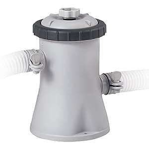 Intex Kartuschenfilteranlage Typ ECO 1250, Grau, 1.250 l/h/30 W/230 V