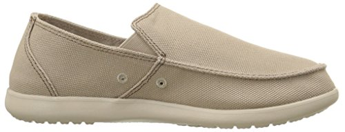 Crocs Santa Cruz Clean Cut Lfr M Scarpe  Low-Top, Uomo Marrone (Khaki/Cobblestone)