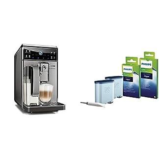Saeco-HD897501-GranBaristo-Kaffeevollautomat-AquaClean-Zertifiziert-und-Generalberholt