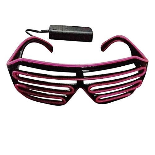 Felicove 70er Jahre Herren & Damen Sunglasses Fliegerbrille - Club leuchten Gläser - Party leuchten...