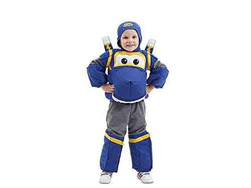 Costume super wings jett dlx blu 44198