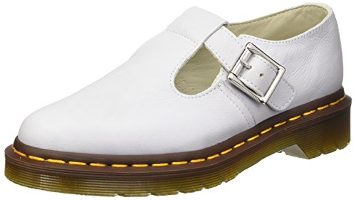 Dr. Martens POLLEY Virginia IVORY, Salomés femme Bianco (Blue Moon)