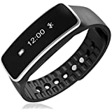 Mobicell Model J7 Prime Compatible Bluetooth Smart Sports Wristband OLED Smart Fitness Tracker Sport Pedometer Bluetooth Connectivity For All Android Phones