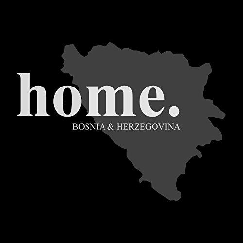Bosnien - Bosna - Bosnia My Home - Herren T-Shirt von Kater Likoli Deep Black