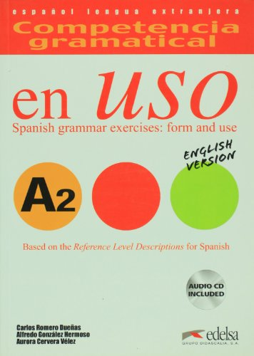 Competencia Gramatical En USO: Libro + CD - English Version A2