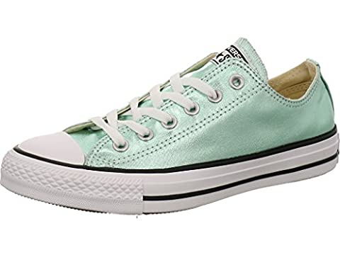 Converse CT AS OX Chuck Taylor All Star metallic grün (39.5) (Chuck Taylor Metallic Lo Top)