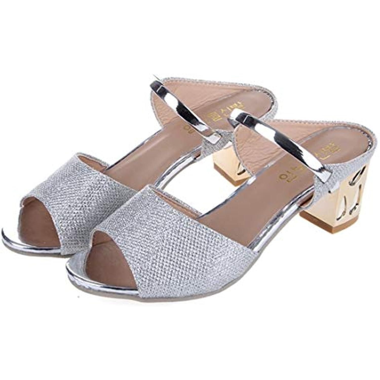 Mode d'été Femmes  s Casual en Semelles compensées en Casual PU Souple Chaussures mi-Talon épaisses Dames Chaussures... - B07H5MVS5J - 4e0e93