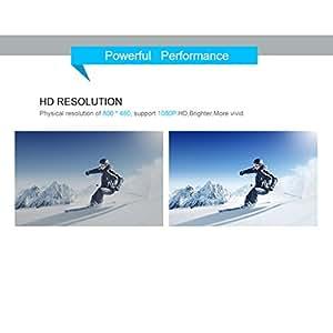 Imported Home Theater Portable Mini LED LCD Projector 1080P FHD AU Plug