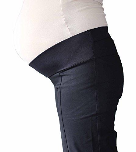 Mia maternity Damen Hose schwarz schwarz 32,34,36,38,40,42,44,46,48 black without pockets