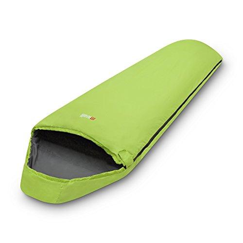 Mivall Patrol Lemon Sleeping Bag for Trekking Travel Ultra Light Compact Warm,