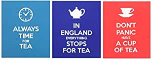 New English Teas Slogans Carton Gift Set (Pack of 1, Total 30 Teabags)