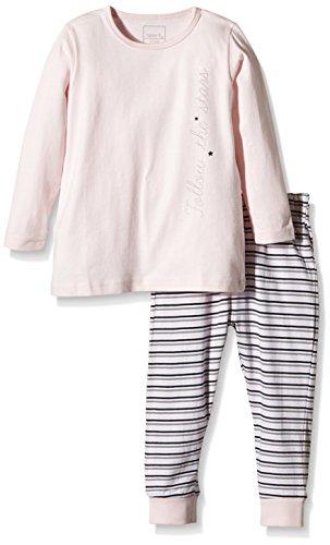 NAME IT Baby-Mädchen Zweiteiliger Schlafanzug NITNIGHTSET M G NOOS Mehrfarbig (Ballerina) 92