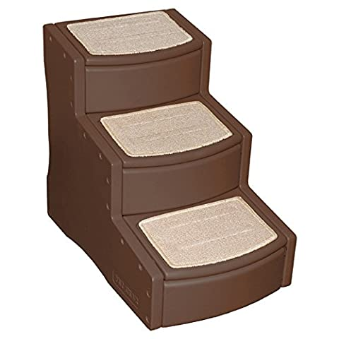 Pet Gear Easy Step Haustier Treppe (3 Stufen) (Schokolade)