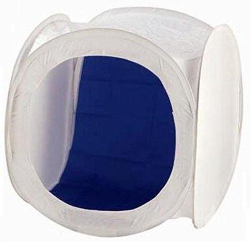 Bresser F000427 Y-08 Lichtzelt 60 x 60 x 60cm Chromakey-Blau/Weiß/Rot/Schwarz