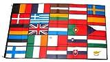 Fahne / Flagge Europa 25 Länder NEU 90 x 150 cm