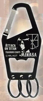 Attaque sur Titan d?capsuleur avec mousqueton (Mikasa) R?f?rence: RM-3325 (Japon importation)