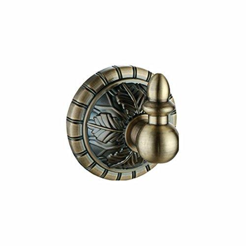 D&D-Bathroom Accessories Badaccessoires Sets/Im europäischen Stil Geschnitzte Bronze Base Badezimmer Anhänger Anzug dünnes Handtuch Seifenschale, Kleidung Haken -