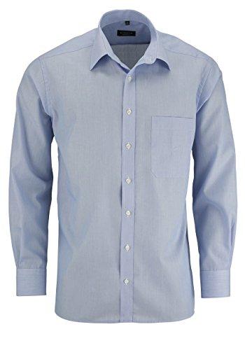 """Herren Hemd """"Comfort Fit"""" Langarm Bleu"""