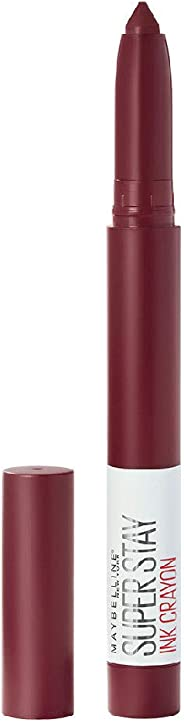 Maybelline Super Stay Crayon Lipstick, Settle For More,