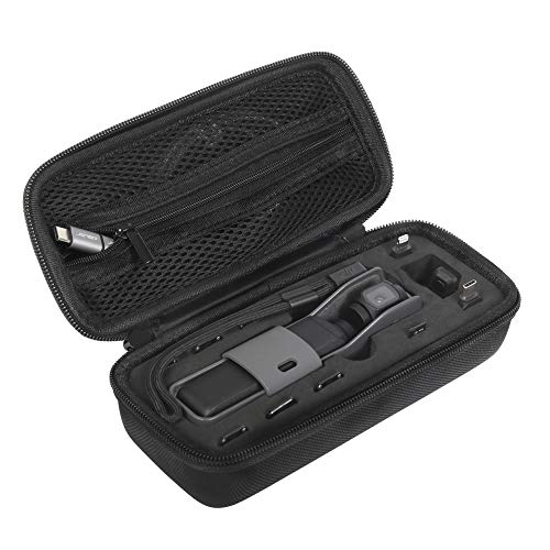 JSVER Mini Tragetasche für DJI osmo Pocket, Tasche Schützend Carrying case Wasserdicht Kompatibel mit DJI Osmo Pocket Kamera, Filters und Zubehör Pocket Case