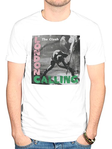 Official The Clash London Calling T-Shirt, S to XXL