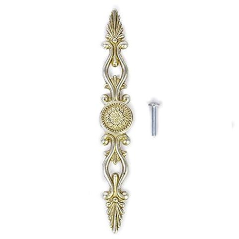 Traditionellen Antiken Silbernen Schrank Schublade Tuerzuziehgriff Zugknopf Moebelgriff Schrankgriff 175mm